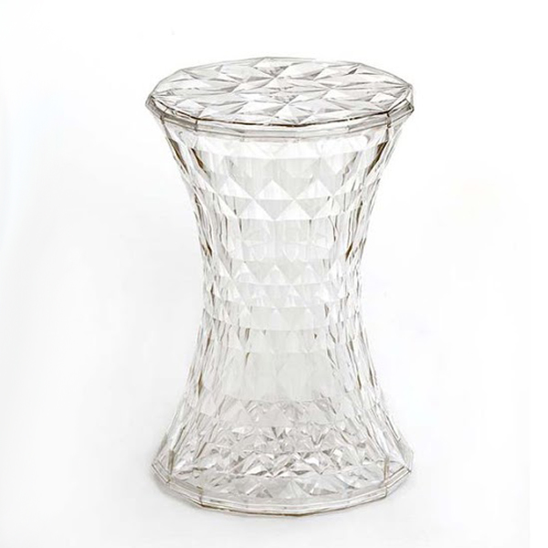 Stone stool from Kartell, designed by Marcel Wanders
