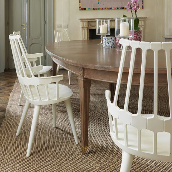 Comback chair from Kartell, designed by Patricia Urquiola