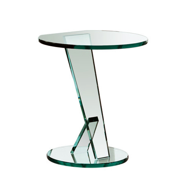 Nicchio end table from Tonelli, designed by M.U.