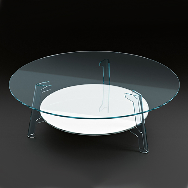 Flute, coffee table from Fiam