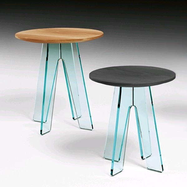 Ovidio, end table from Fiam