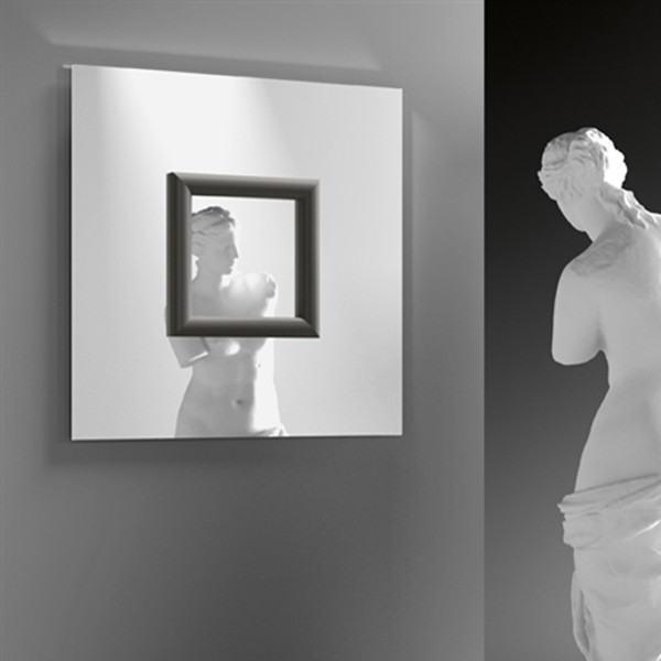 Ritratto mirror from Fiam, designed by Marta Laudani and Marco Romanelli