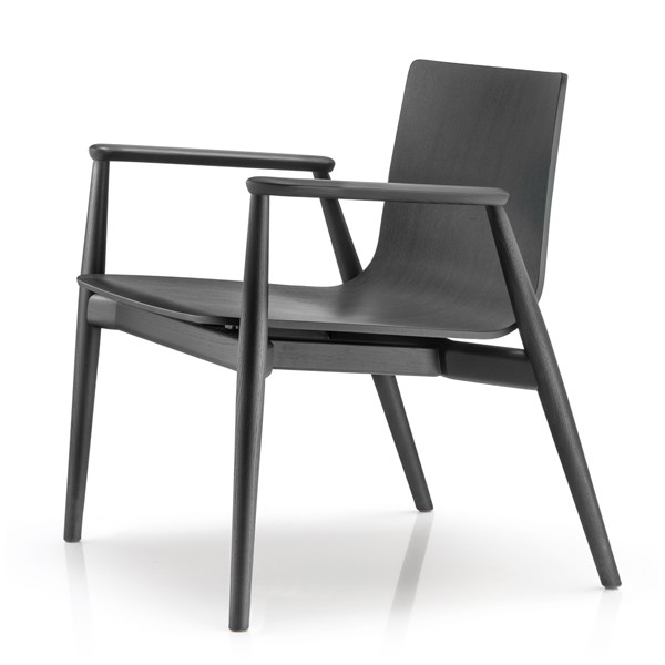 Malmo Lounge 295 chair from Pedrali, designed by CMP Design