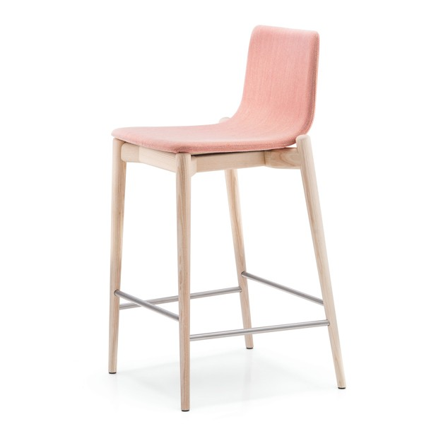 Malmo Fabric Stool from Pedrali