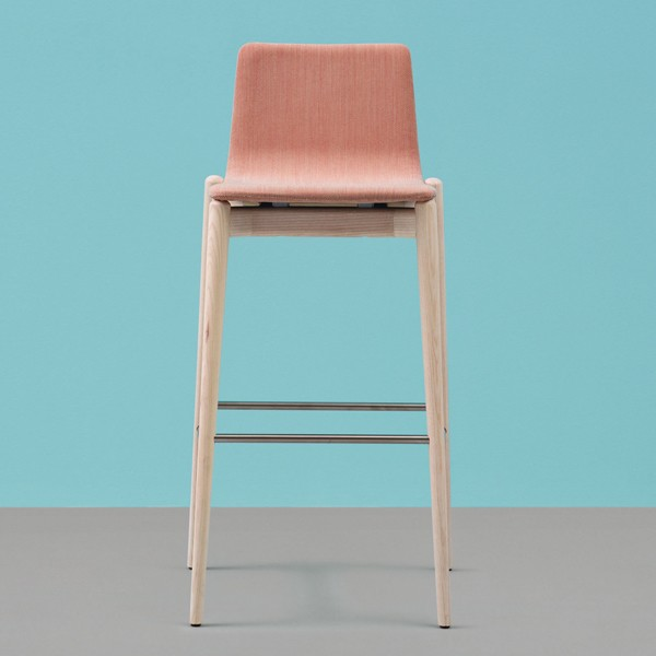 Malmo Fabric Stool from Pedrali, designed by CMP Design