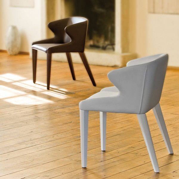 Leila 681 chair from Pedrali, designed by Manzoni e Tapinassi