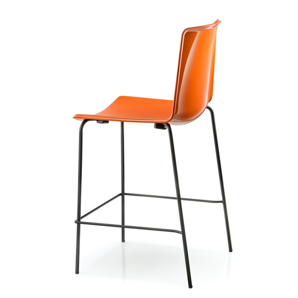 Tweet Stool Monocolore from Pedrali, designed by Marc Sadler