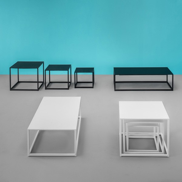 Code end table from Pedrali, designed by Pedrali R&D