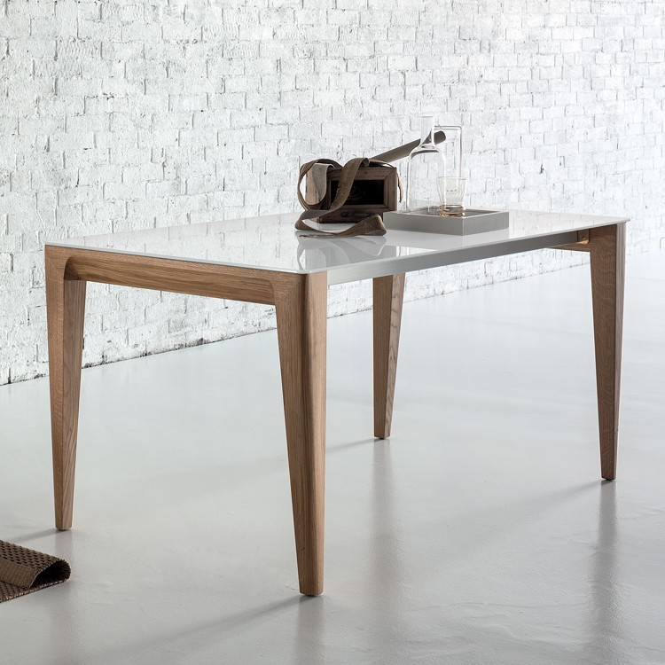 Mirage dining table from Sedit