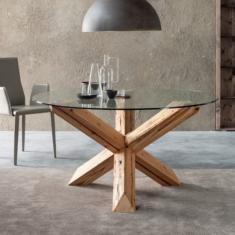 Travo dining table from Sedit