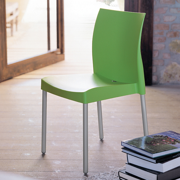 Ice 800 chair from Pedrali, designed by Dondoli and Pocci