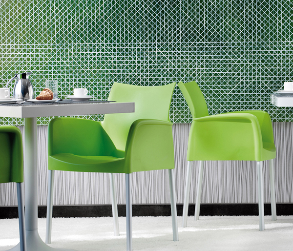 Ice 850 chair from Pedrali, designed by Dondoli and Pocci