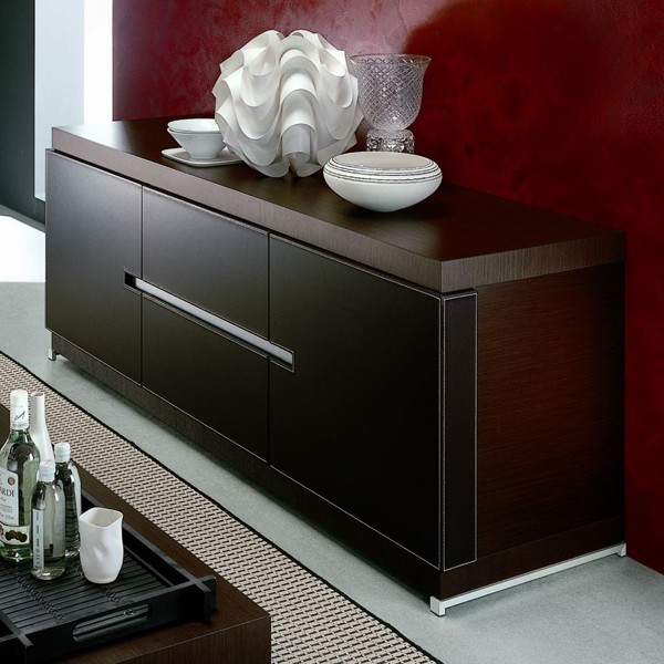 Rossetto Mirage City Buffet Wooden Storage Cabinet