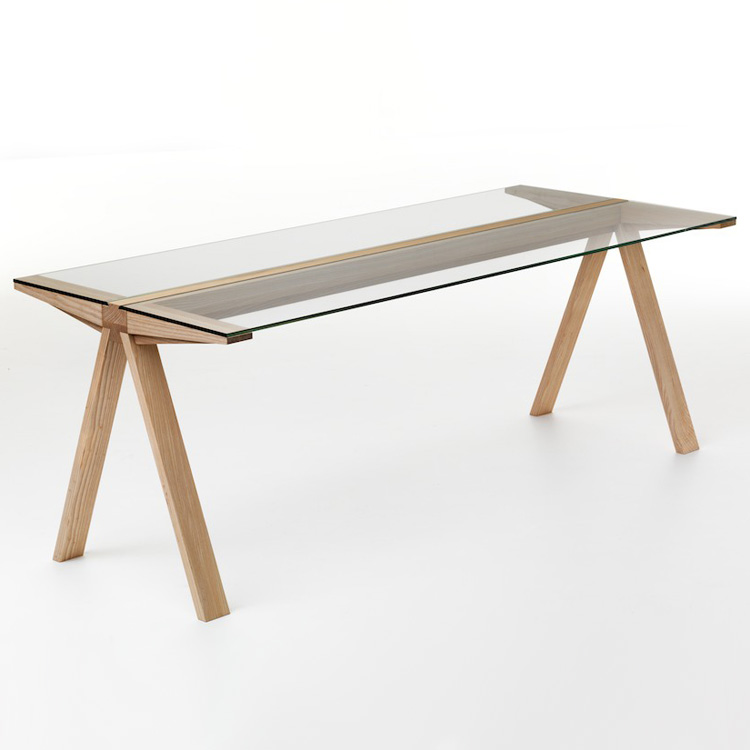 Traverso Flush dining table from Valsecchi