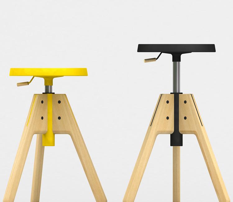 Pico stool from Valsecchi