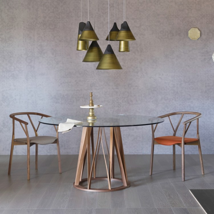 Acco Dining table from Miniforms, designed by Florian Schmid