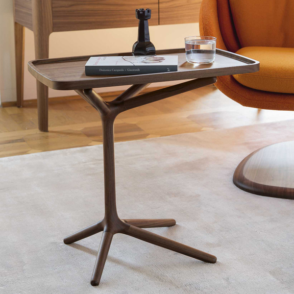 Ics end table from Porada, designed by M. Fossati