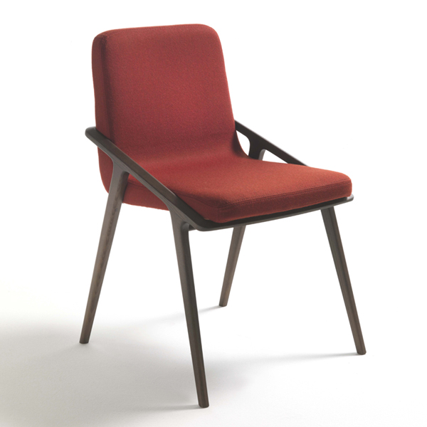 Lolita chair from Porada, designed by E. Gallina