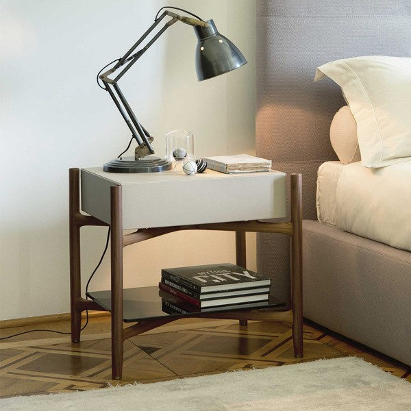 Regent 2 end table from Porada