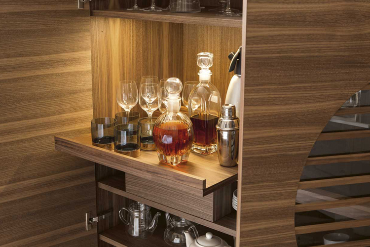 Polifemo cabinet from Porada, designed by G. Azzarello
