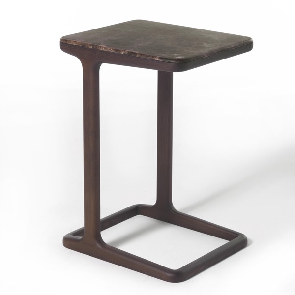 Script 45 end table from Porada, designed by E. Gallina