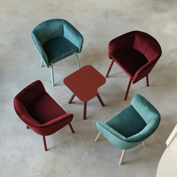 Balu chair from Trabaldo