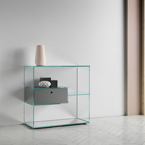 Liber H cabinet from Tonelli, designed by Luca Papini