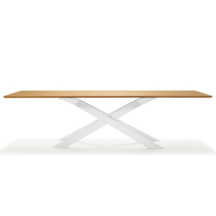 Cross Wood dining table from Sovet