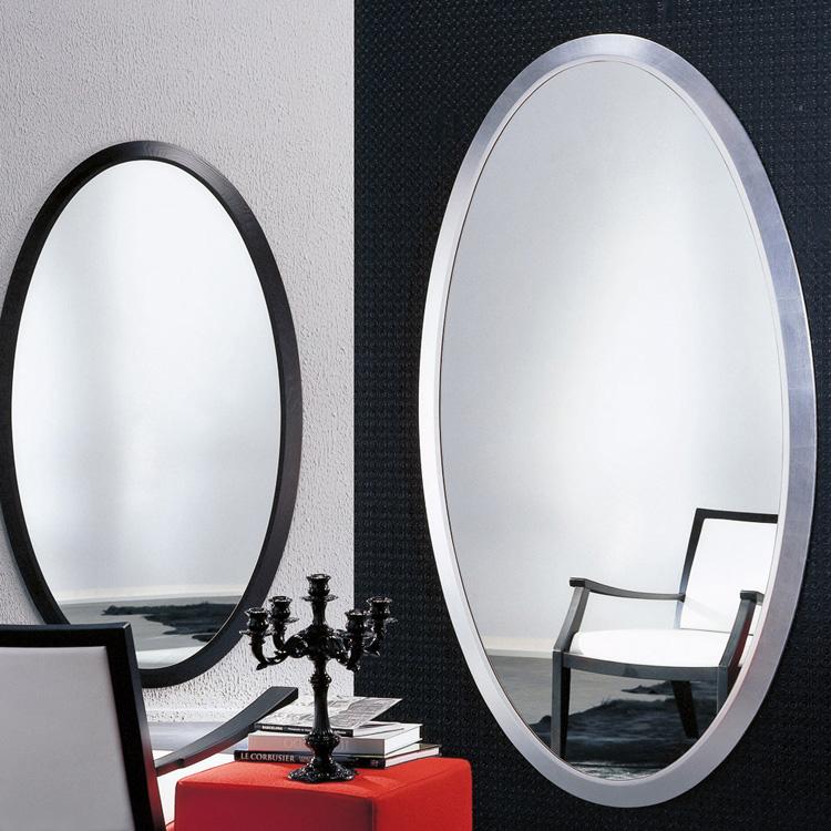 Four Seasons Oval mirror from Porada