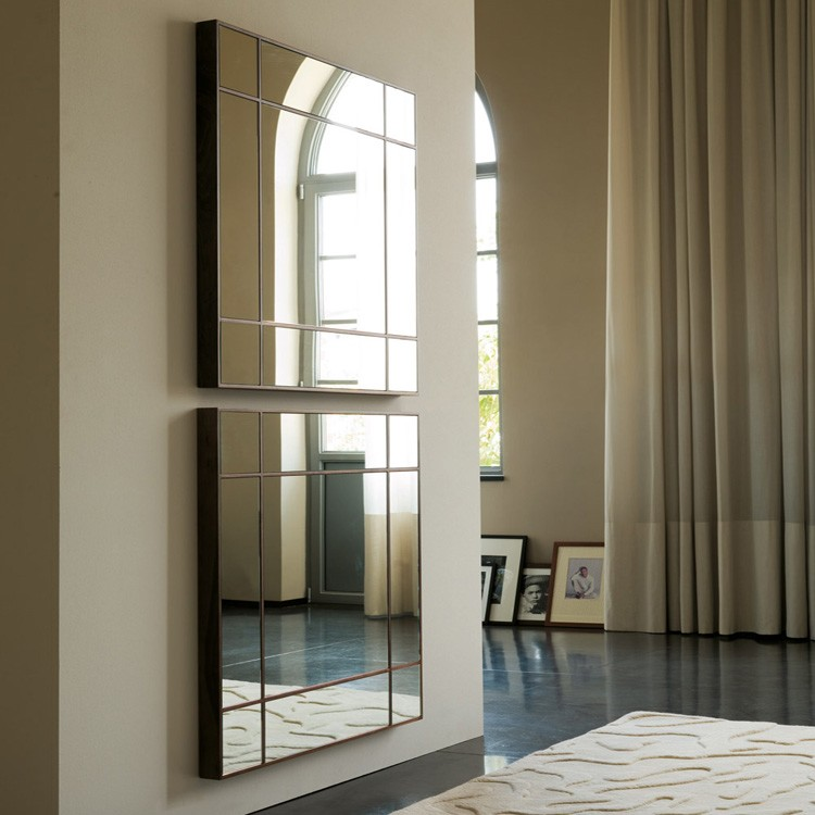 Four Seasons Quadratto mirror from Porada, designed by Opera Design