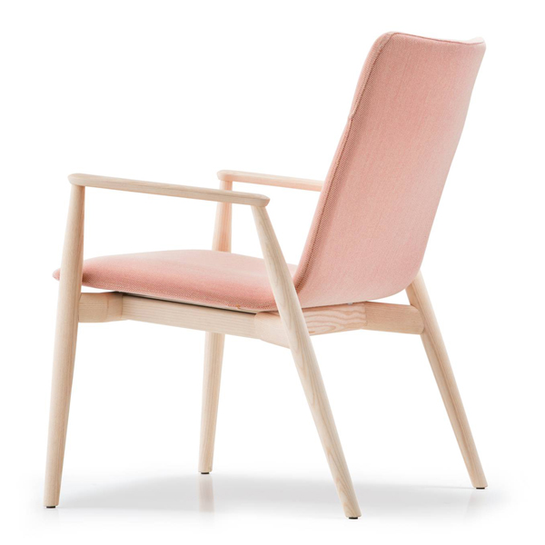 Malmo Relax 298 lounge chair from Pedrali, designed by CMP Design