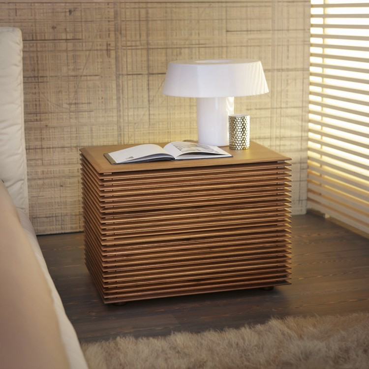 Riga 2 Nightstand end table from Porada