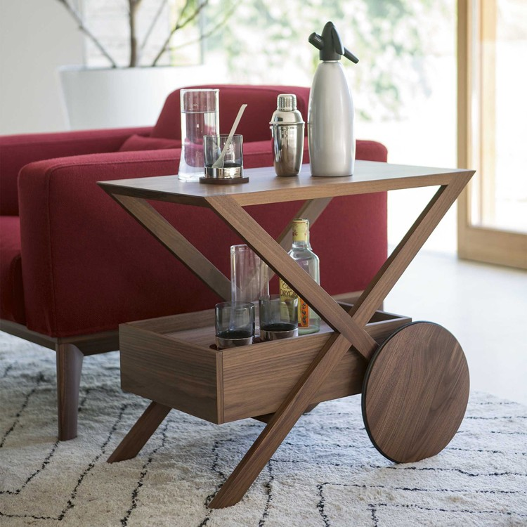Spritz bar table from Porada, designed by D. Dolcini