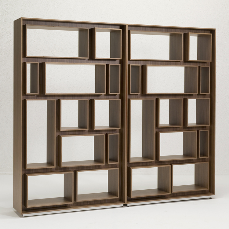 First bookcase from Porada, designed by Gino Carollo