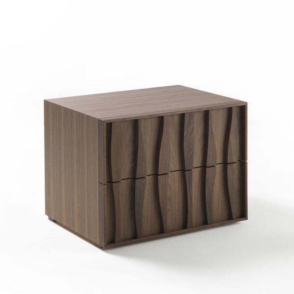 Masai Comodino end table from Porada, designed by M. Marconato and T. Zappa