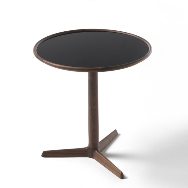 Pausa end table from Porada, designed by T. Colzani