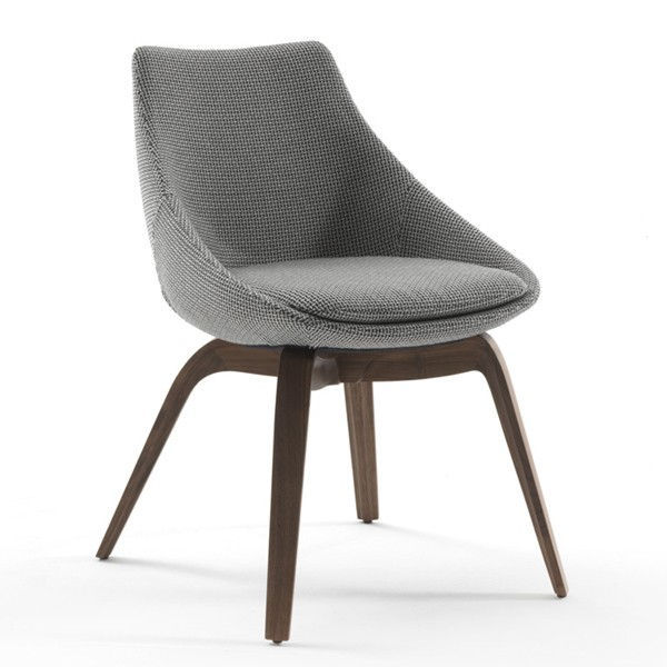 Penelope chair from Porada, designed by M. Marconato and T. Zappa