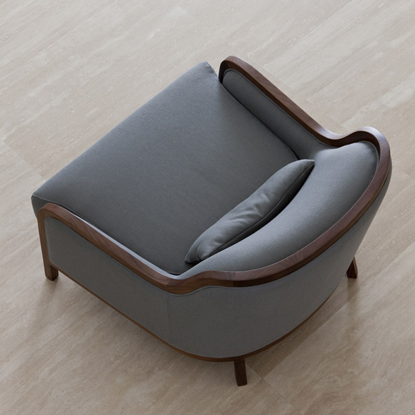 Charlotte lounge chair from Porada, designed by M. & L. Dainelli