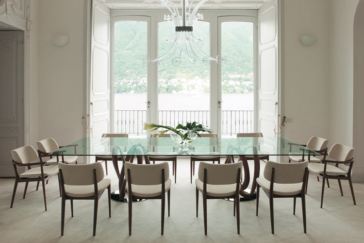 Infinity 2 Base dining table from Porada, designed by S. Bigi