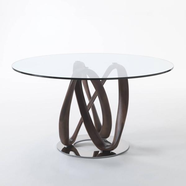 Infinity dining table from Porada, designed by S. Bigi