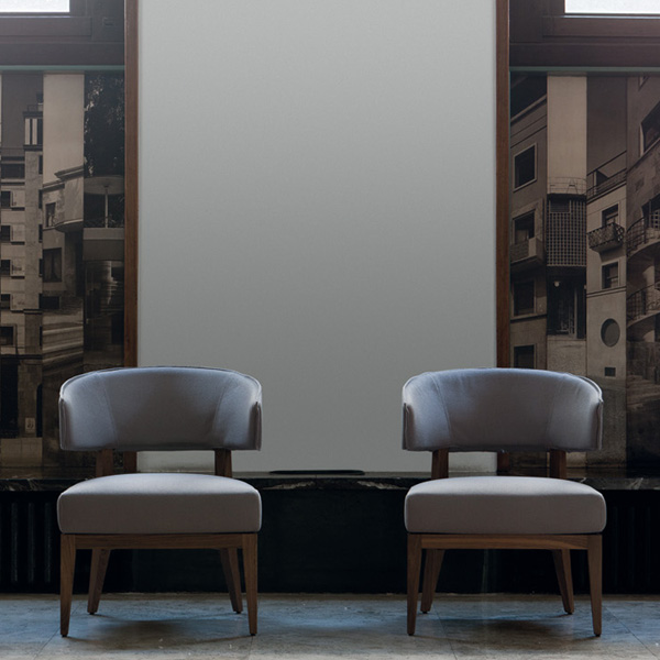 Lenie lounge chair from Porada