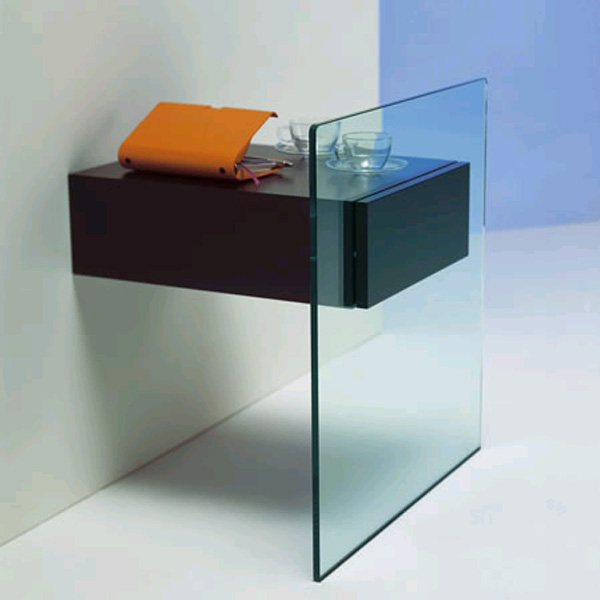 Do-Mo end table from Tonelli, designed by Maurizio Castelvetro