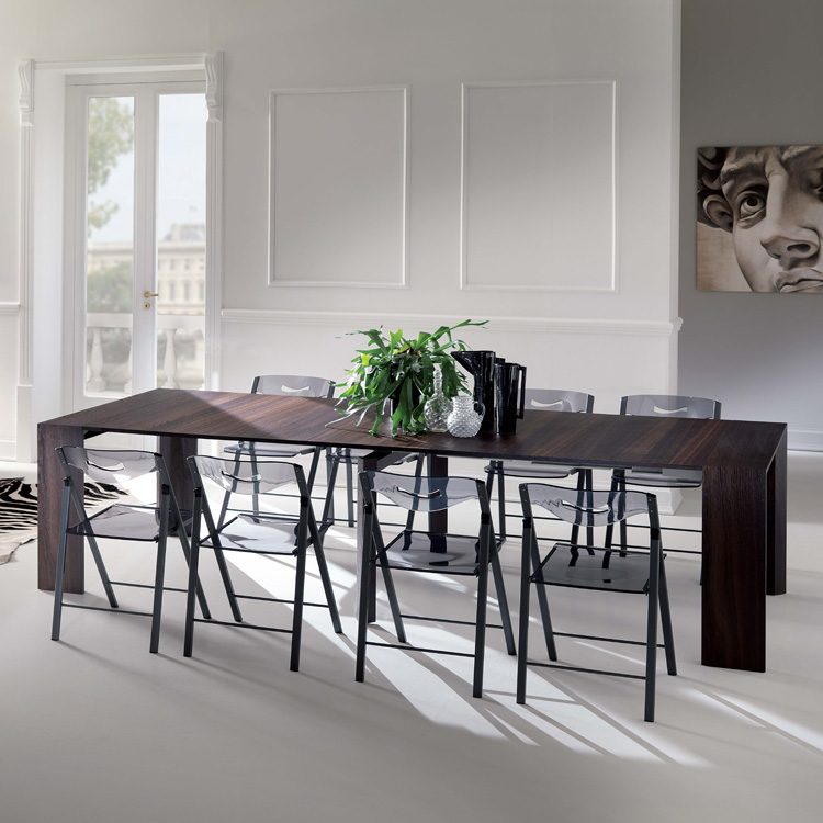 Ozzio Golia T035 | Wooden dining table, console table ...
