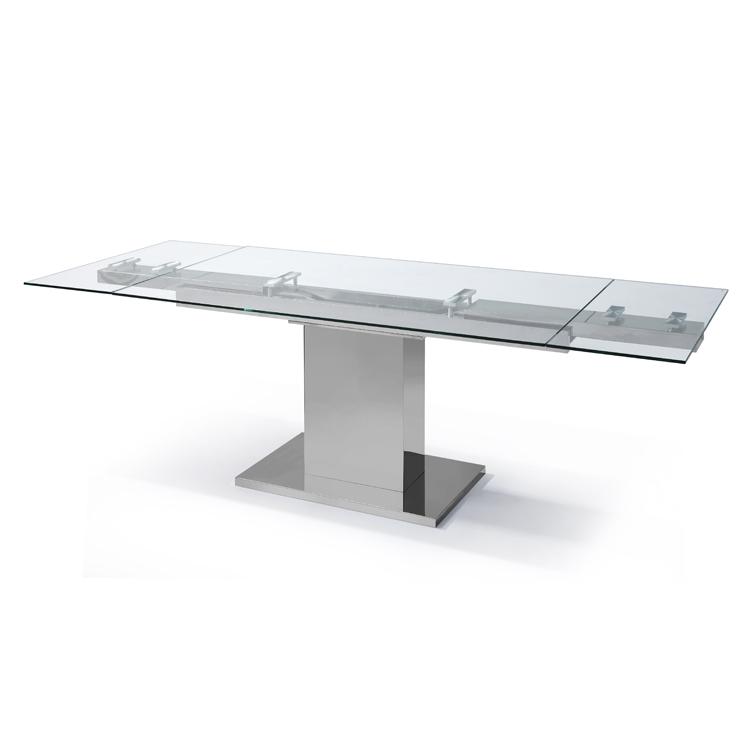 Slim dining table from Whiteline
