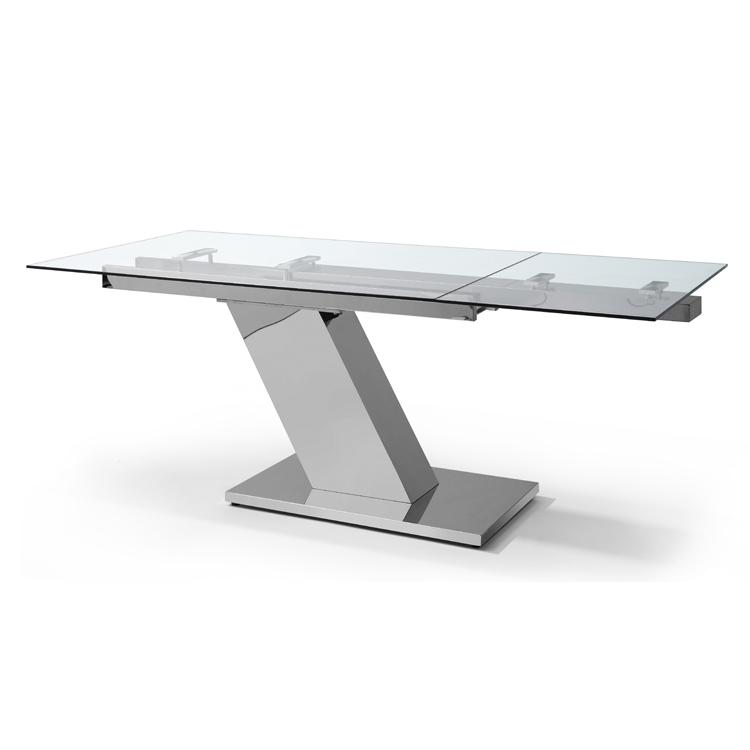 Sleek dining table from Whiteline