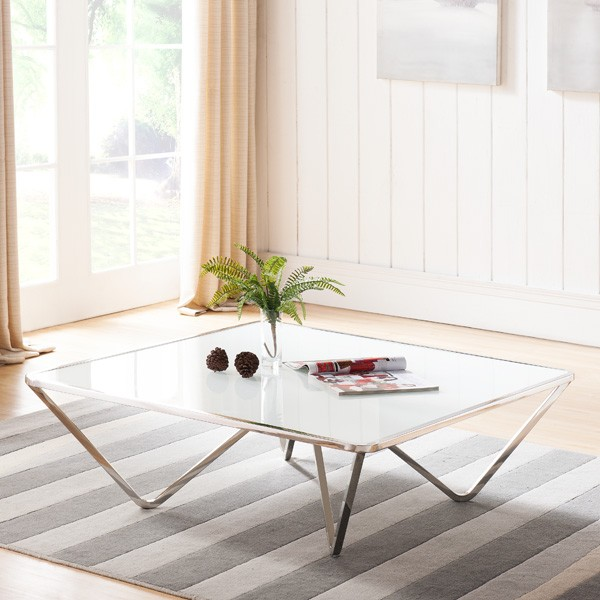 Wave S coffee table from Whiteline