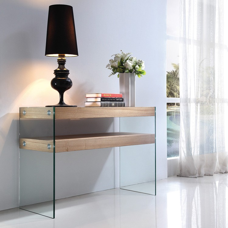 Alfa Console with Ash Shelf table from Viva Modern