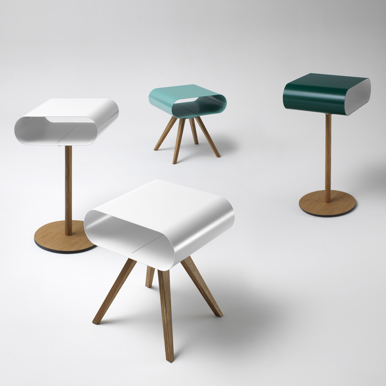 LO12 end table from Muller