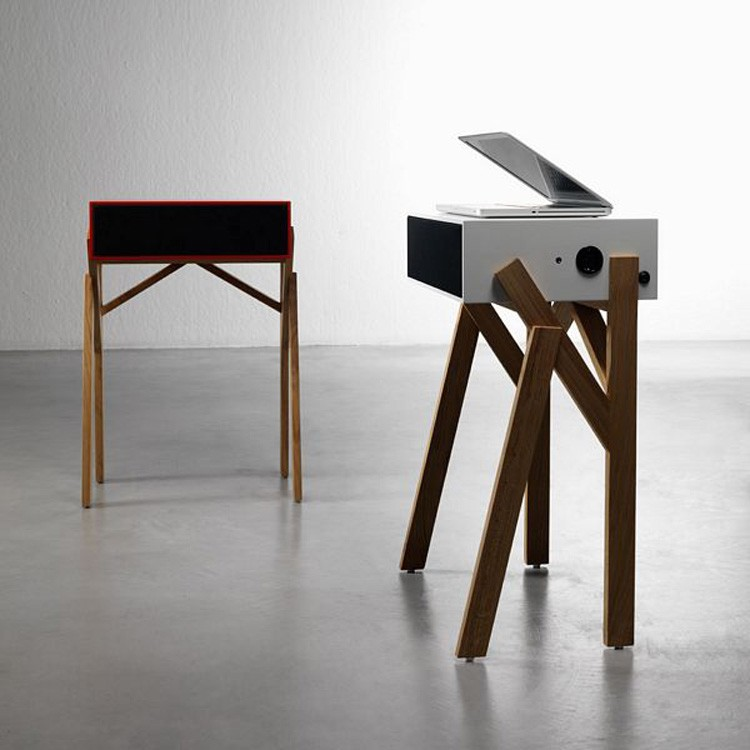 Torototela desk from Miniforms