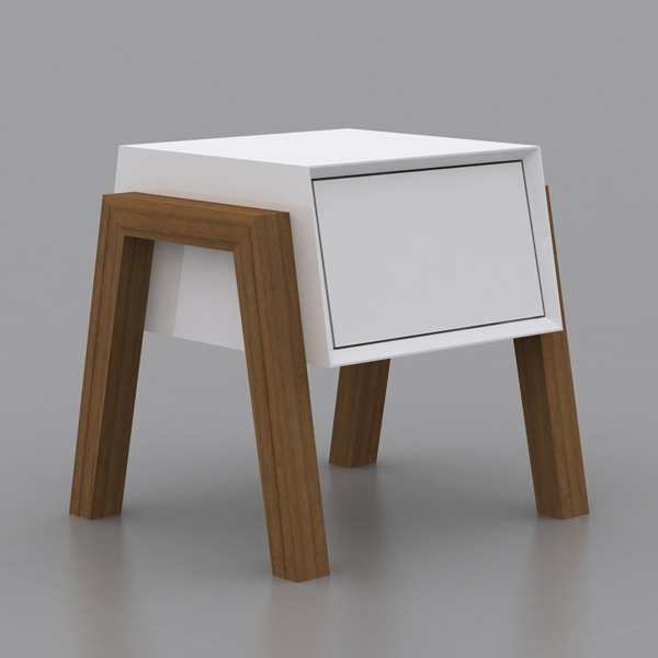 Figo CB-3937 end table from Casabianca